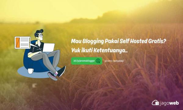 Promo Blogger Gratis Hosting + Domain my.id