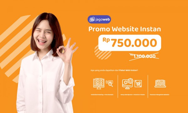 Hujan Promo Website Instan, Sampai 50%!!!