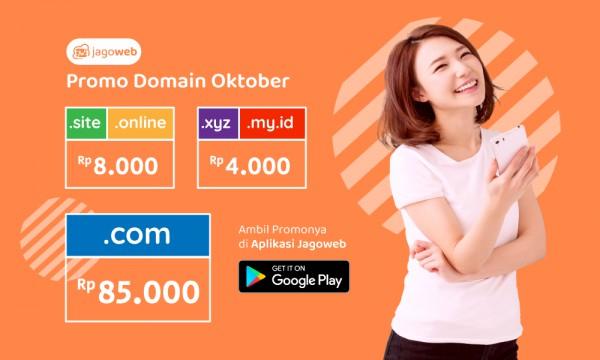 Promo Domain Murah Bulan Oktober !