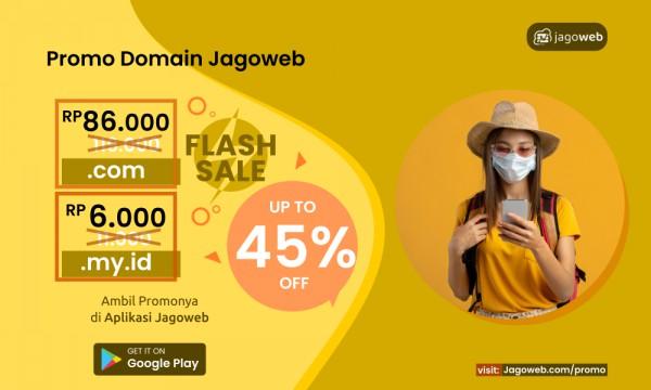 Juni Hemat dengan Promo Domain di Jagoweb