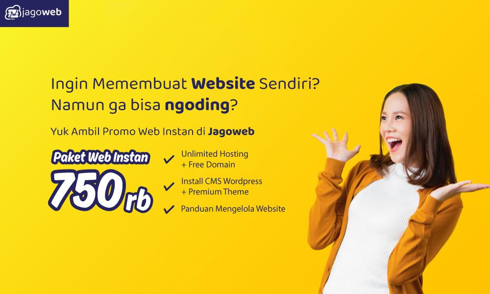 Promo web instan