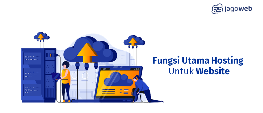 fungsi utama hosting untuk website