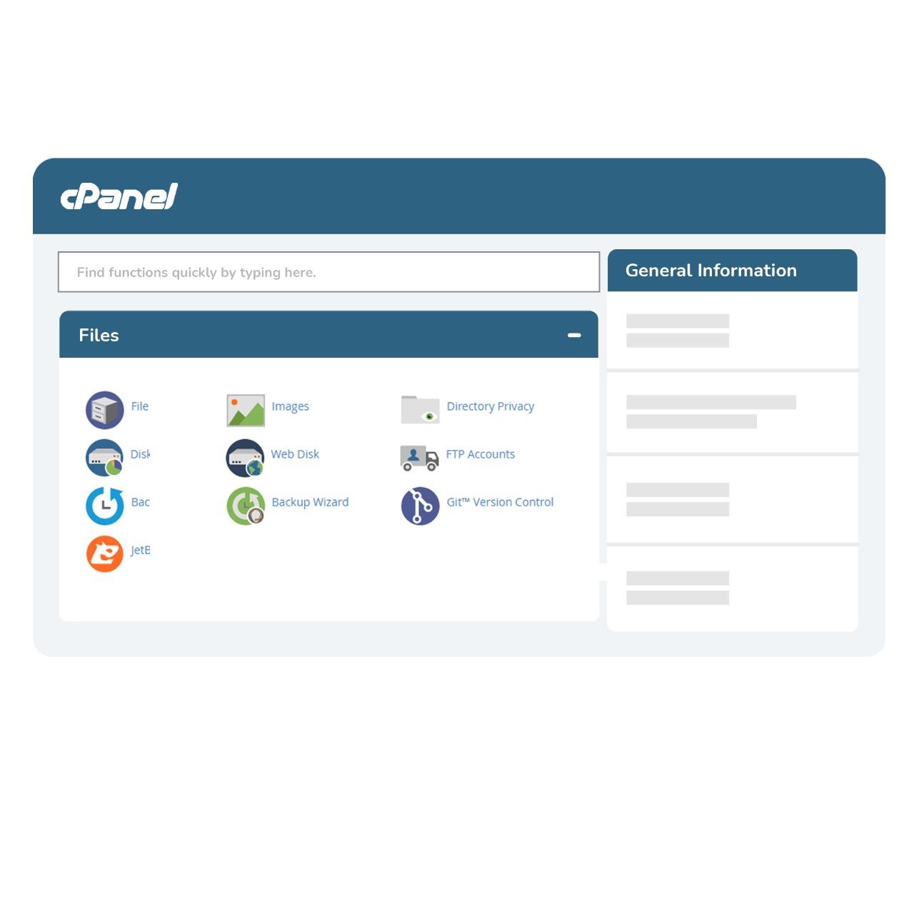 cpanel kontrol panel hosting