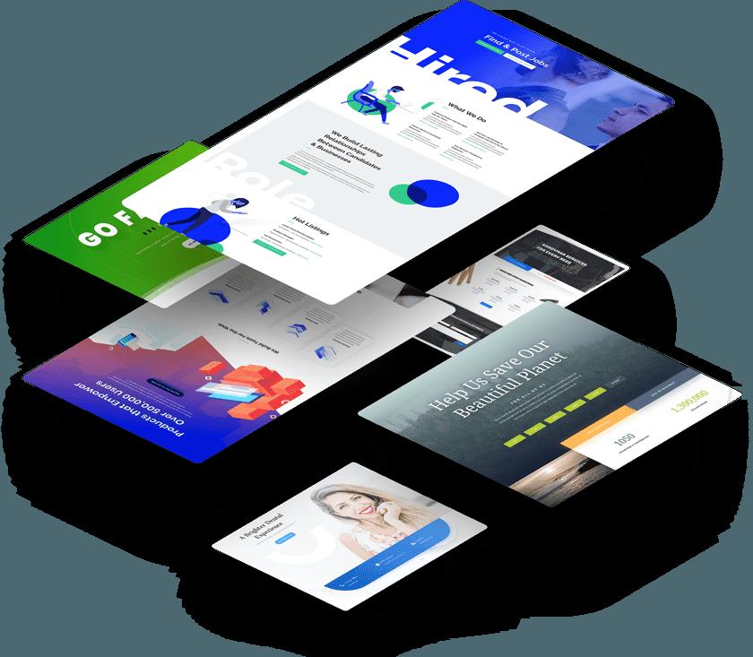 hosting unlimited gratis template divi