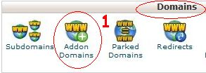 cara add on domain cpanel 1