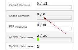 cara add on domain cpanel 4