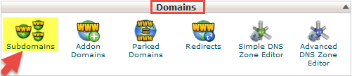 tutorial subdomain