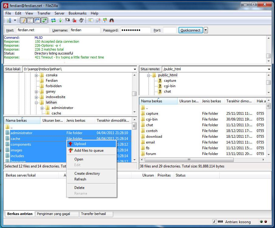 tutorial file zilla 1 jagowebhosting 5