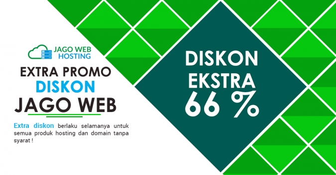 Sudah Ke-enam Diskon Hosting 66 % Tanpa Batas