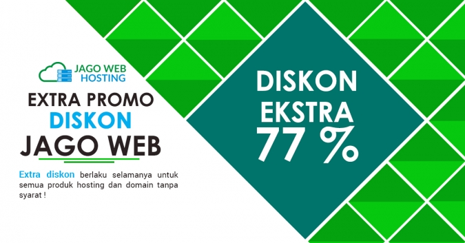 Sudah Sampai Order Hosting ke-7 Diskon 77%