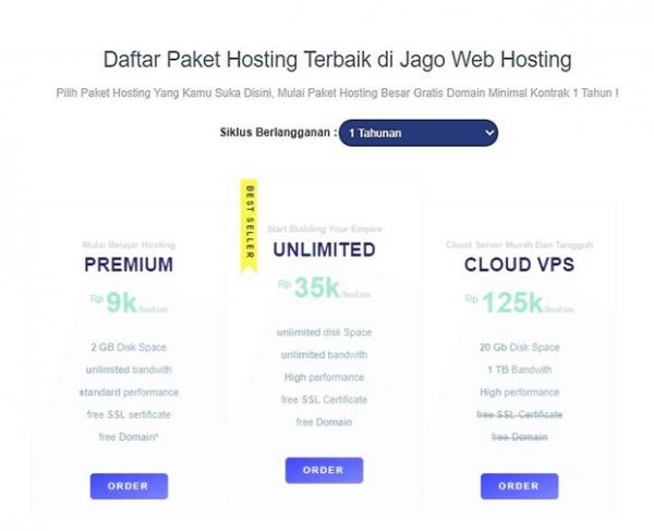 Hosting Prioritas Untuk Website
